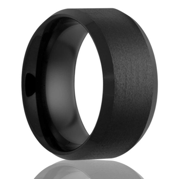 Black Ceramic Band Georgetown Jewelers Wood Dale, IL