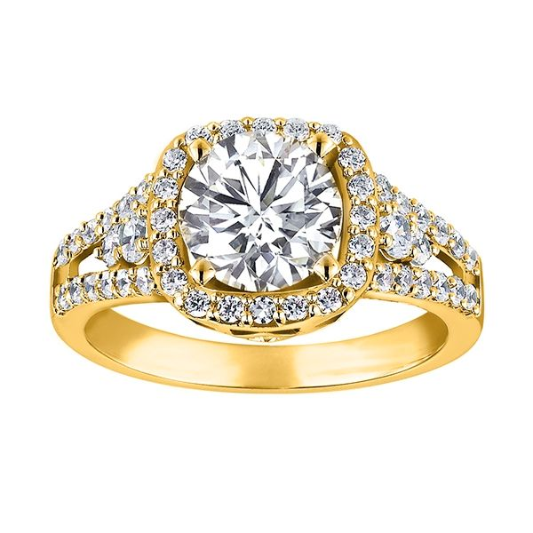 Customizable Engagement Ring Georgetown Jewelers Wood Dale, IL