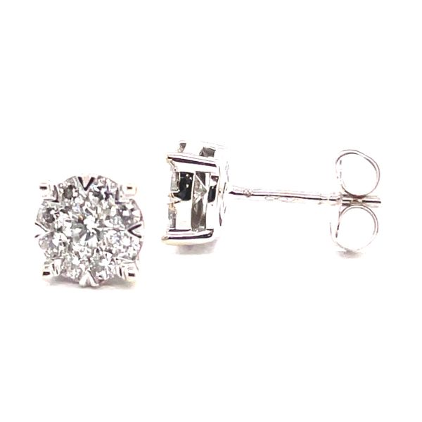 Diamond Stud Earrings Georgetown Jewelers Wood Dale, IL