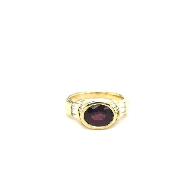 Garnet Ring Georgetown Jewelers Wood Dale, IL