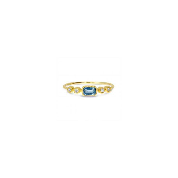 Blue Topaz Ring Georgetown Jewelers Wood Dale, IL