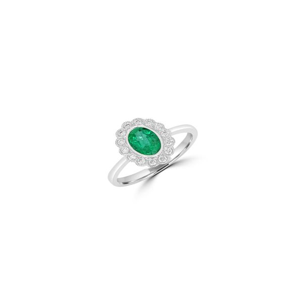 Emerald Ring Georgetown Jewelers Wood Dale, IL