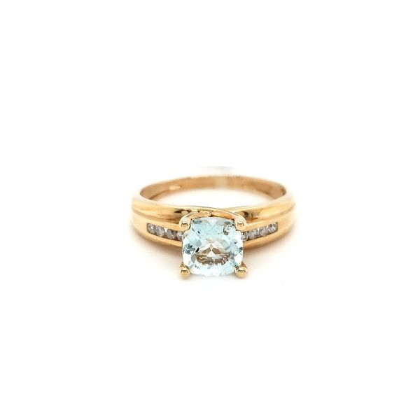 Aquamarine Ring Georgetown Jewelers Wood Dale, IL