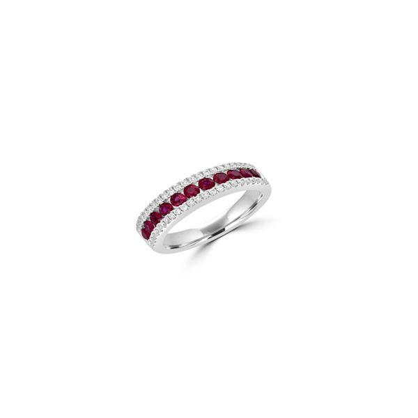 Ruby Band Georgetown Jewelers Wood Dale, IL