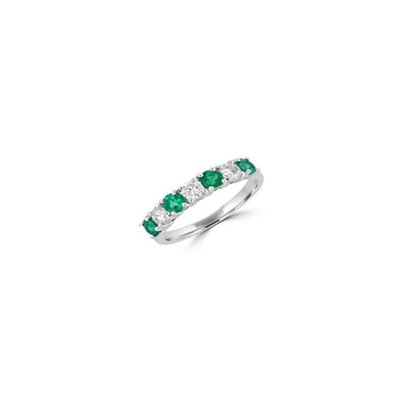 Emerald Band Georgetown Jewelers Wood Dale, IL