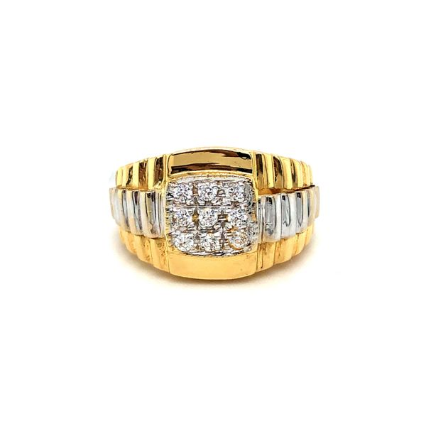 Cubic Zirconia Ring Georgetown Jewelers Wood Dale, IL