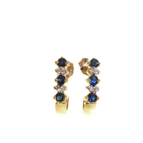 Sapphire Earrings Georgetown Jewelers Wood Dale, IL