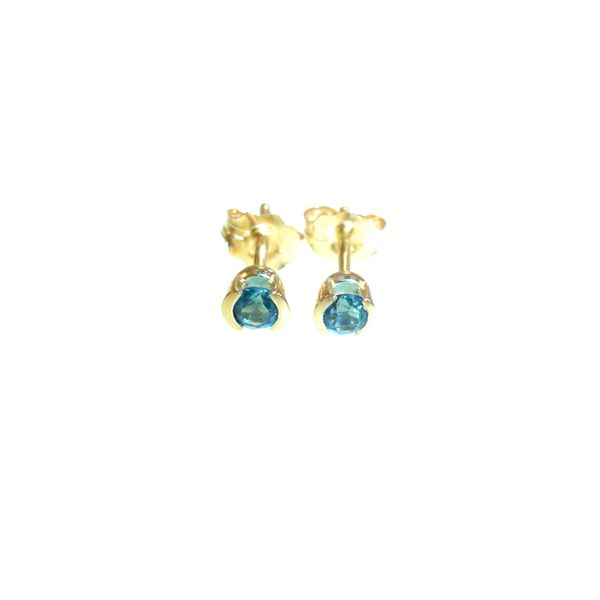Blue Topaz Earrings Georgetown Jewelers Wood Dale, IL
