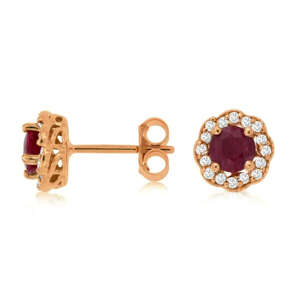 Ruby Earrings Georgetown Jewelers Wood Dale, IL