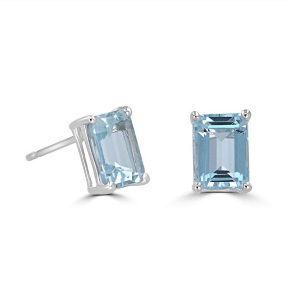 Aquamarine Earrings Georgetown Jewelers Wood Dale, IL