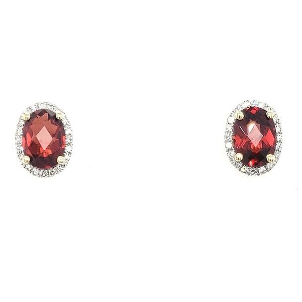 Garnet Earrings Georgetown Jewelers Wood Dale, IL