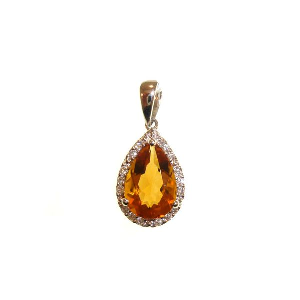 Honey Citrine Pendant Georgetown Jewelers Wood Dale, IL
