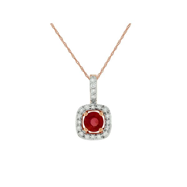 Ruby Pendant Georgetown Jewelers Wood Dale, IL