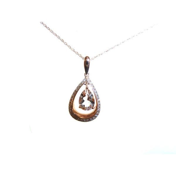 Morganite Pendant Georgetown Jewelers Wood Dale, IL