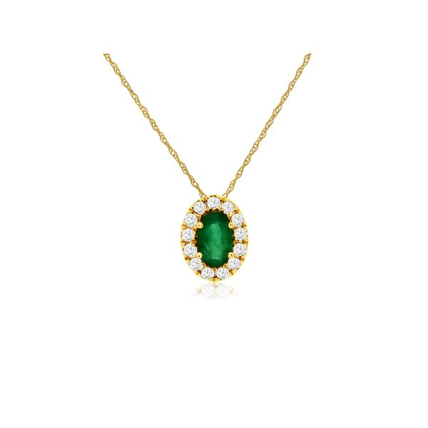 Emerald Pendant Georgetown Jewelers Wood Dale, IL
