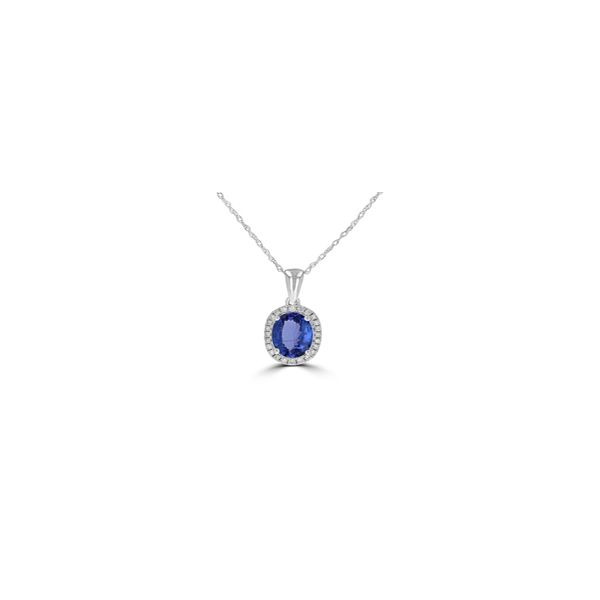 Tanzanite Pendant Georgetown Jewelers Wood Dale, IL