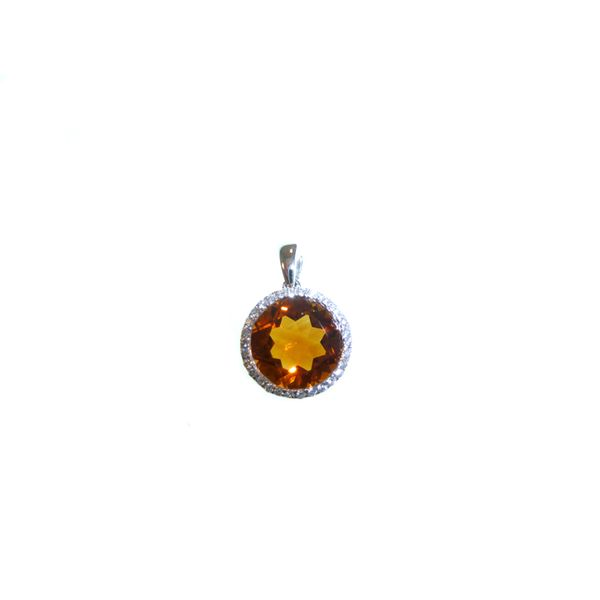 Citrine Pendant Georgetown Jewelers Wood Dale, IL
