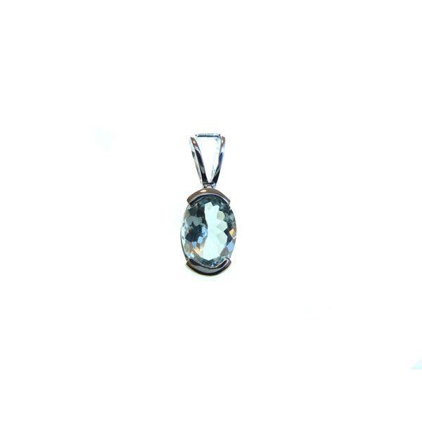 Aquamarine Pendant Georgetown Jewelers Wood Dale, IL