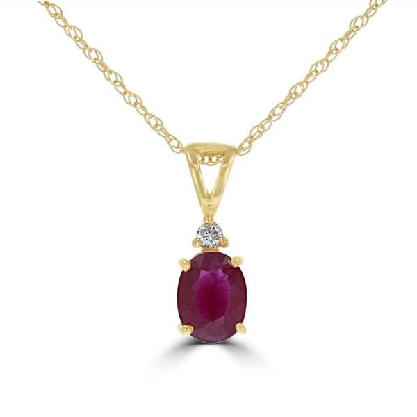 Colored Gemstone Pendant Georgetown Jewelers Wood Dale, IL