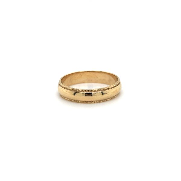 Gold Wedding Band Georgetown Jewelers Wood Dale, IL