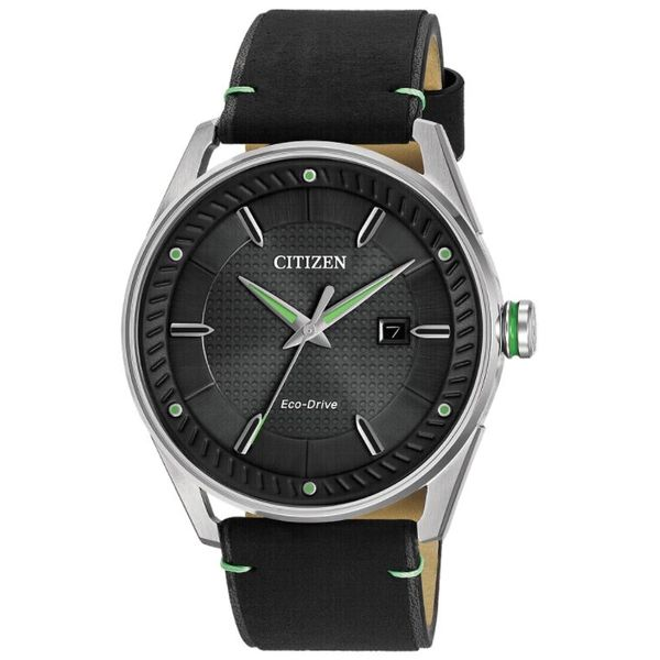 Citizen Green and Black Drive Eco-Drive Georgetown Jewelers Wood Dale, IL