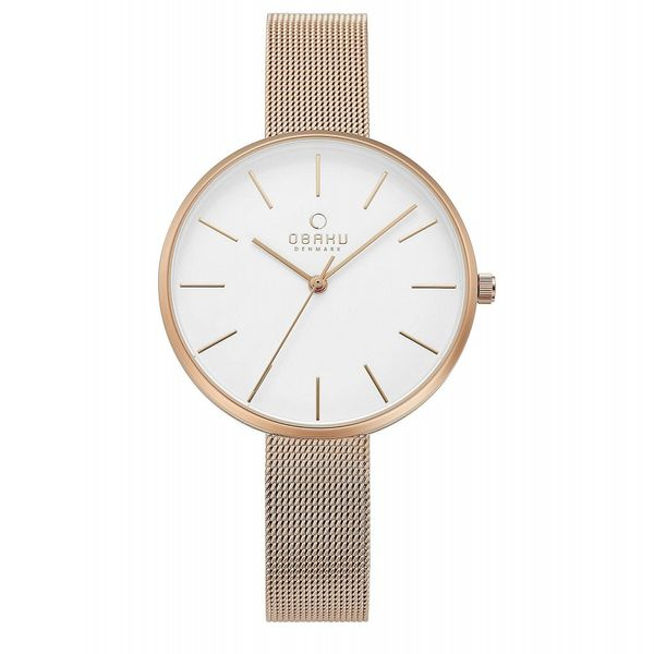Obaku Mynte- Rose Watch Georgetown Jewelers Wood Dale, IL