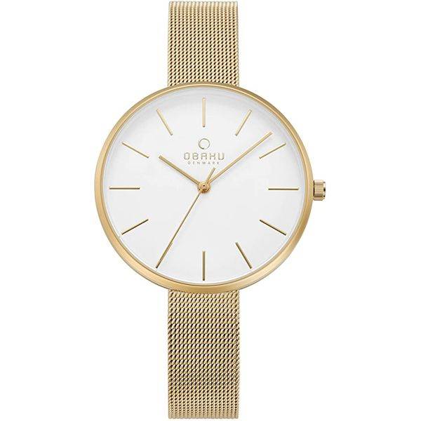 Obaku Mynte- Gold Watch Georgetown Jewelers Wood Dale, IL