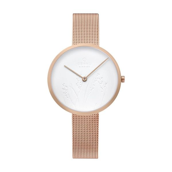 Obaku Hassel- Nature Rose Watch Georgetown Jewelers Wood Dale, IL
