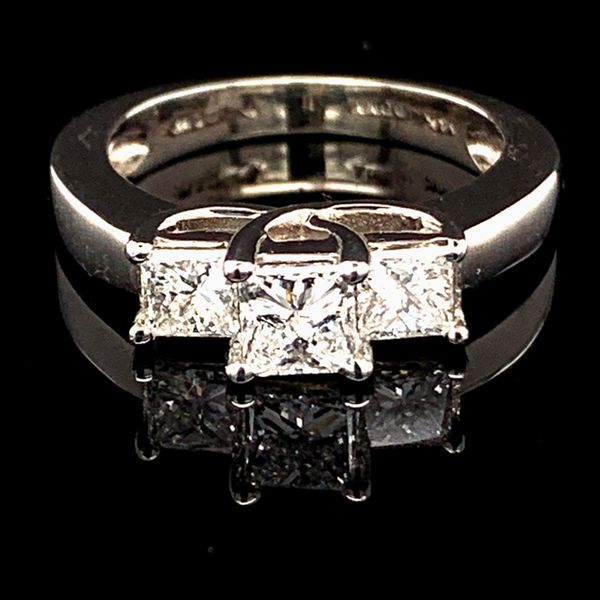 Princess Cut Diamond 3-Stone Ring Gerald's Jewelry Oak Harbor, WA