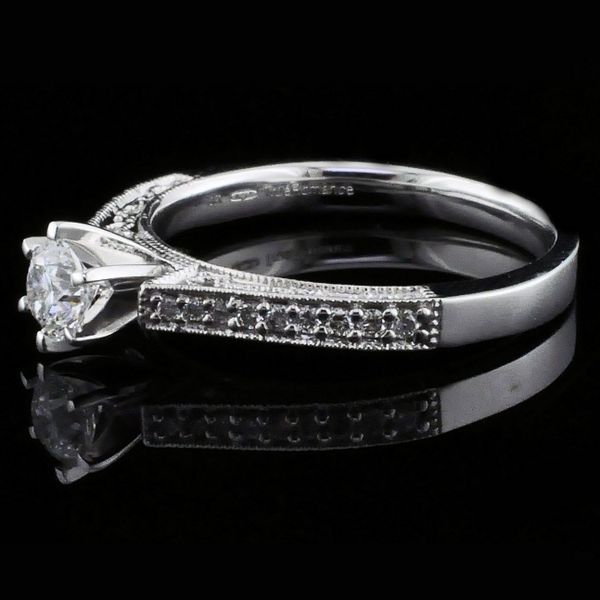 .47Ct Total Weight Diamond Engagement Ring Image 2  ,