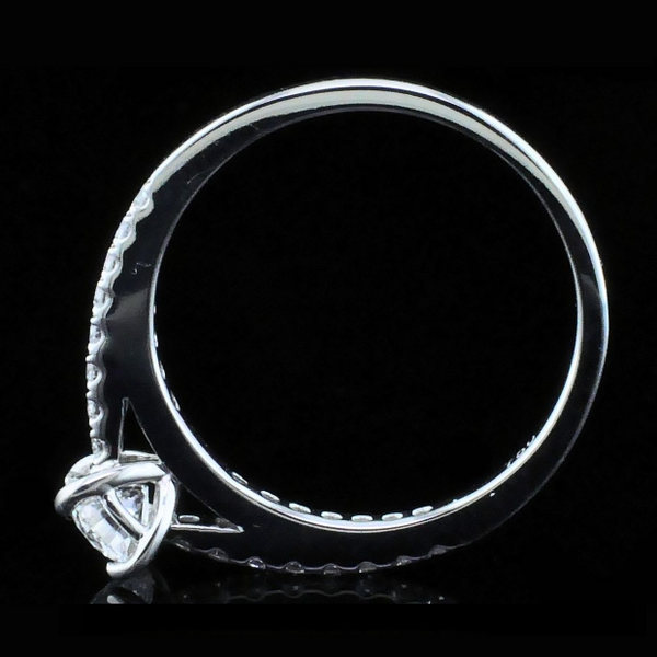 Hearts & Arrows Cut Diamond Engagement Ring Image 3 Gerald's Jewelry Oak Harbor, WA