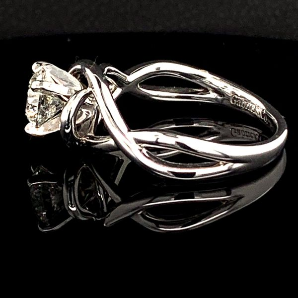 Free Form Diamond Engagement Ring, .90Ct Image 3 Gerald's Jewelry Oak Harbor, WA
