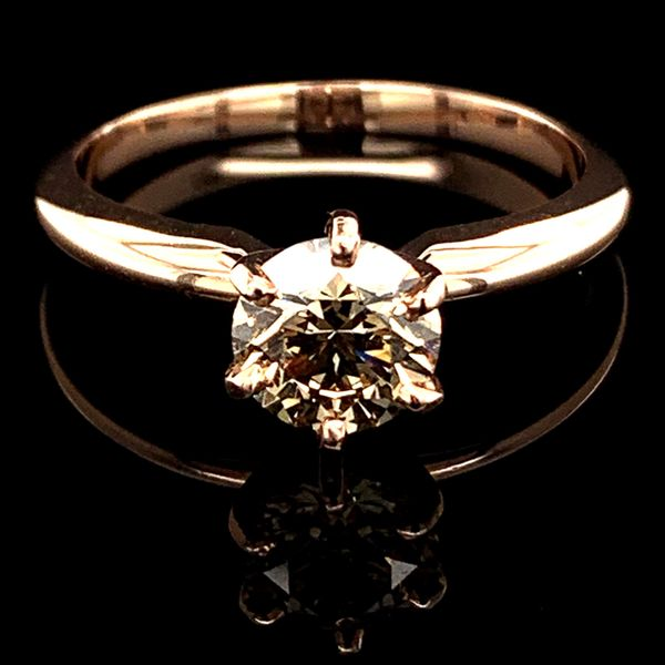 1.03Ct Rose Gold Diamond Solitaire Engagement Ring Geralds Jewelry Oak Harbor, WA