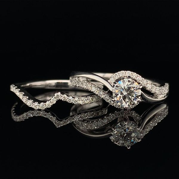 Valina Hearts And Arrows Diamond Engagement Ring Image 3 Gerald's Jewelry Oak Harbor, WA