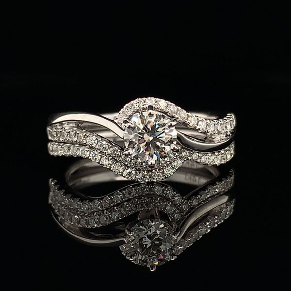 Valina Hearts And Arrows Diamond Engagement Ring Gerald's Jewelry Oak Harbor, WA