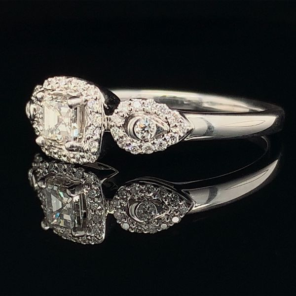 Asscher Cut Diamond Engagement Ring Image 2 Gerald's Jewelry Oak Harbor, WA