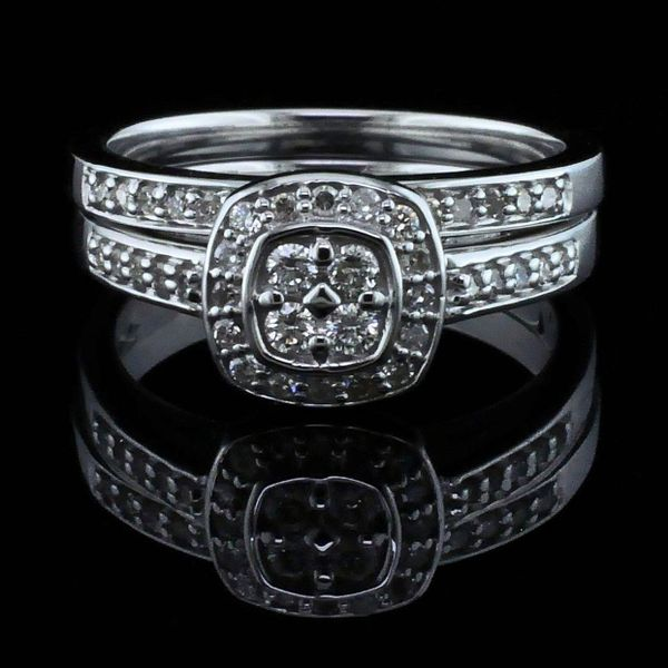 10K Diamond Wedding Set Geralds Jewelry Oak Harbor, WA
