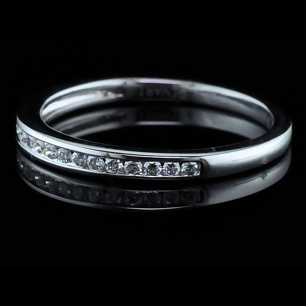 Ladies Diamond Wedding Band Image 2 Geralds Jewelry Oak Harbor, WA