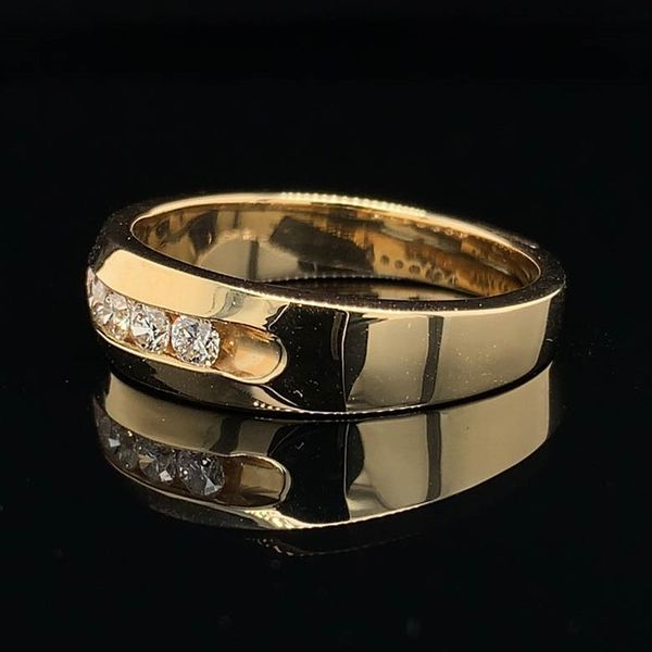 .50Ct Total Weight Men's Diamond Band Image 2 Geralds Jewelry Oak Harbor, WA