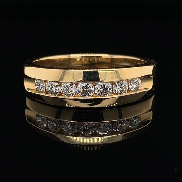 .50Ct Total Weight Men's Diamond Band Geralds Jewelry Oak Harbor, WA