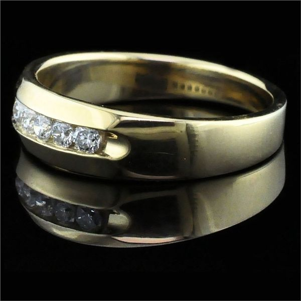 .50ct Total Weight Men's Diamond Band Image 2  ,