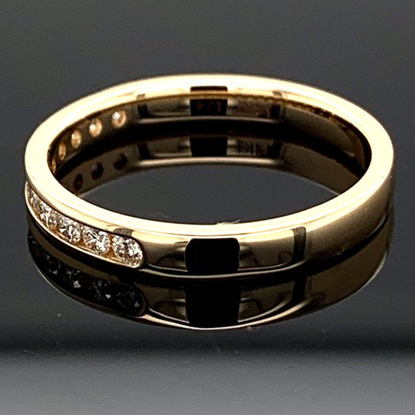 .25ct Total Weight Diamond Anniversary Band Image 2 Gerald's Jewelry Oak Harbor, WA