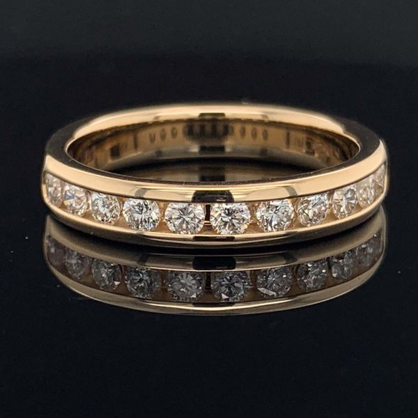 .50Ct Total Weight Diamond Anniversary Band Gerald's Jewelry Oak Harbor, WA