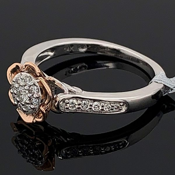 Enchanted Disney Princess Belle Diamond Fashion Ring Image 2 Gerald's Jewelry Oak Harbor, WA