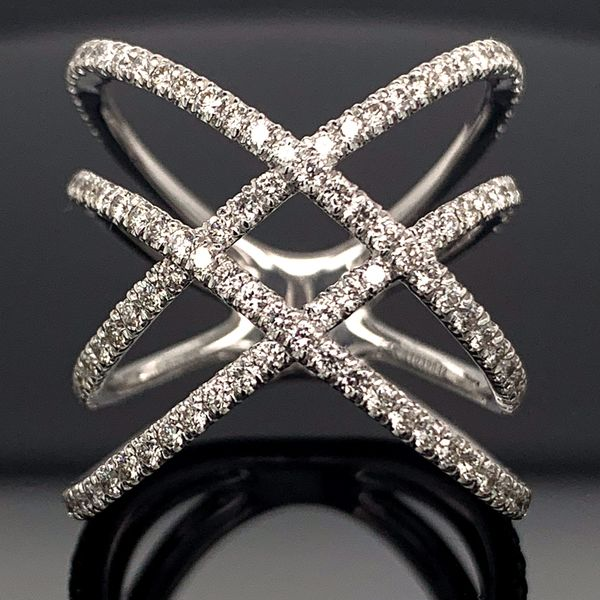 Gabriel & Co. Women's  Diamond Fashion Ring Geralds Jewelry Oak Harbor, WA