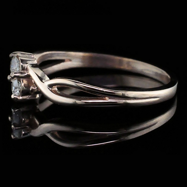 Ladies 2-stone Diamond Ring Image 2 Gerald's Jewelry Oak Harbor, WA