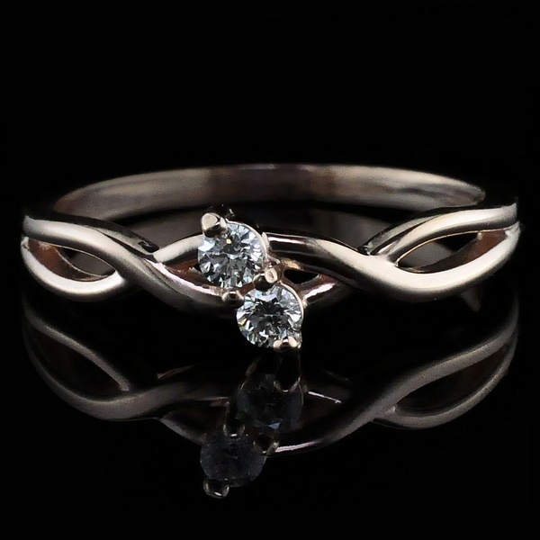 Ladies 2-stone Diamond Ring Gerald's Jewelry Oak Harbor, WA