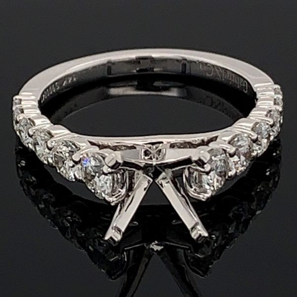 Gabriel & Co. Diamond Semi Mount Engagement Ring Gerald's Jewelry Oak Harbor, WA
