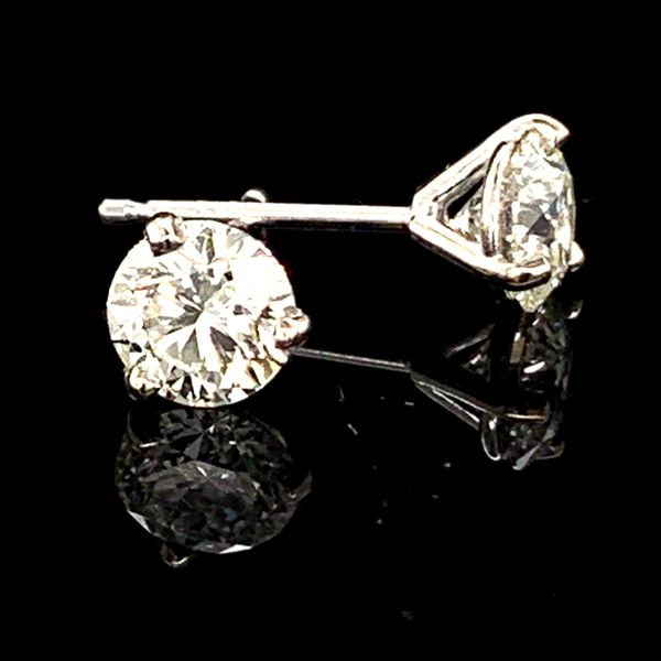 Hearts & Arrows Diamond Studs, 1.01Ct Total Weight Geralds Jewelry Oak Harbor, WA