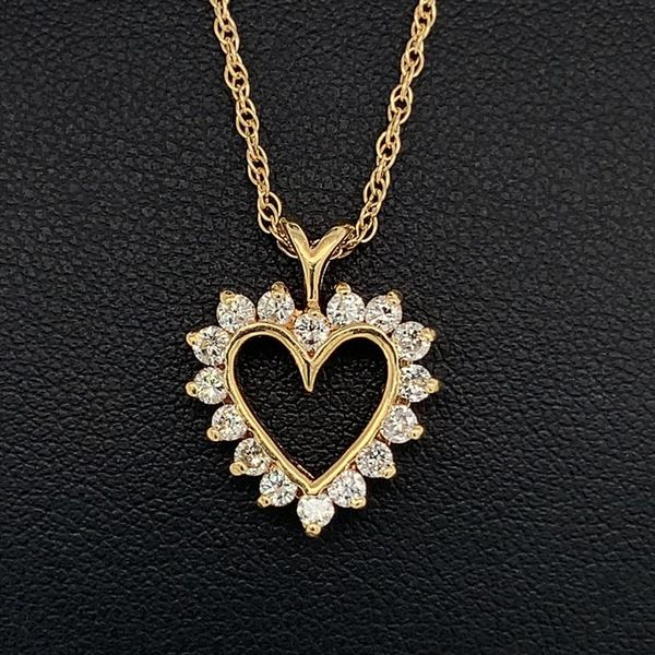 Diamond Heart Pendant Geralds Jewelry Oak Harbor, WA